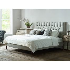 Lawrence Deep Button Wool Bed The English Bed Company