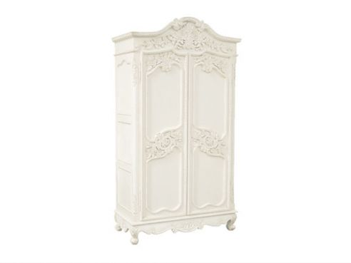 Chateau Carved Armoire