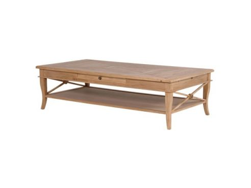 Sacramento Weathered Oak Coffee Table