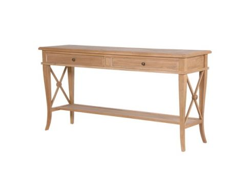 Sacramento Weathered Oak Hall Table