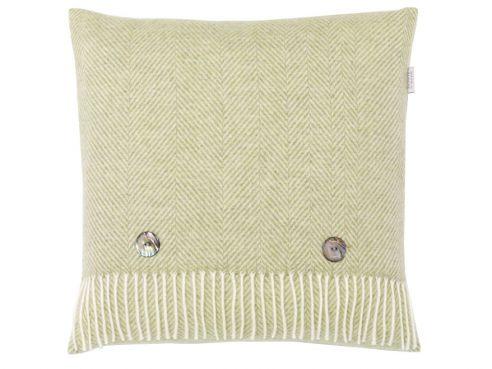 Herringbone Cushion Sage