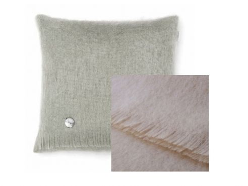 Mohair Cushion Vanilla