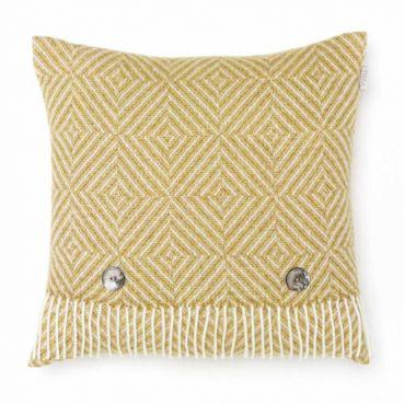 Gold Vienna Herringbone Cushion
