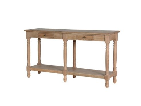 Weathered Oak Hall Table
