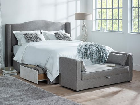 Marlow 2 Drawer Fabric Bed