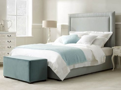 Shelley Double Gas Lift Bed-Monza Dove