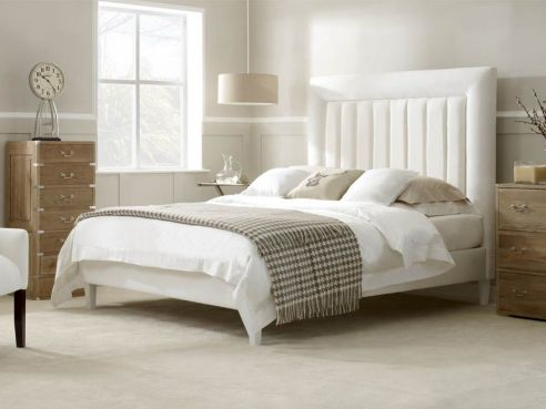Bespoke Adams Double Bed-Aubergine