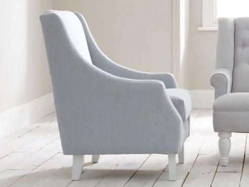 Barbour Arm Chair Coal Arran Wool