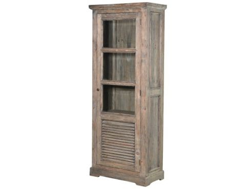 Colonial Reclaimed Glazed Bookcase