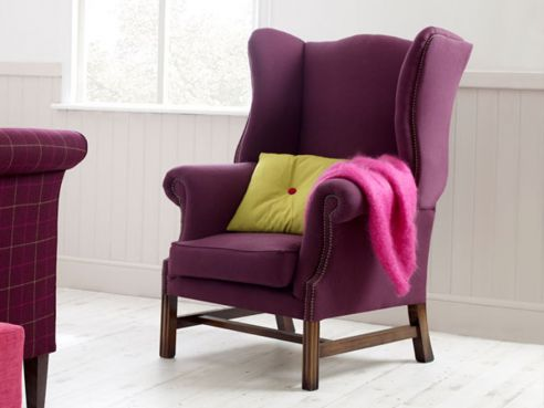 Bedroom Chairs: Upholstered Chairs, Studded & Cushioned