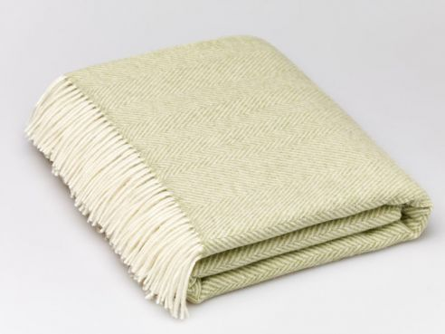 Herringbone Throw Sage