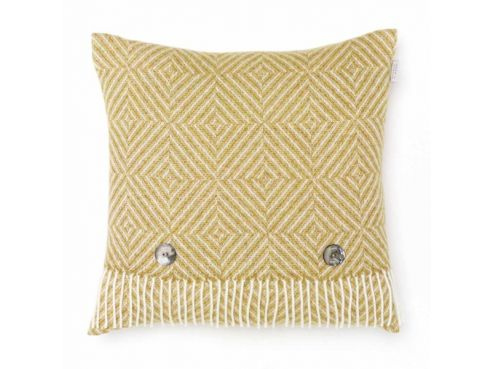 Gold Vienna Herringbone Cushion