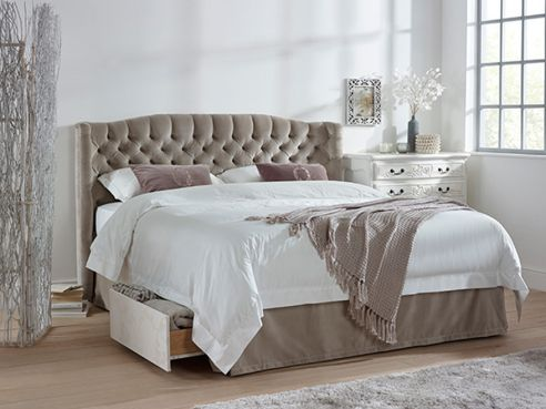 Wordsworth Double Storage Bed