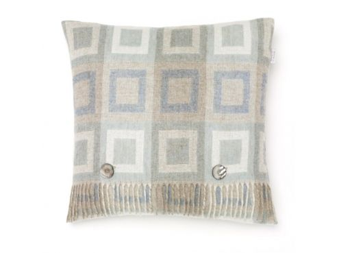 Doublesquare Cushion Aqua