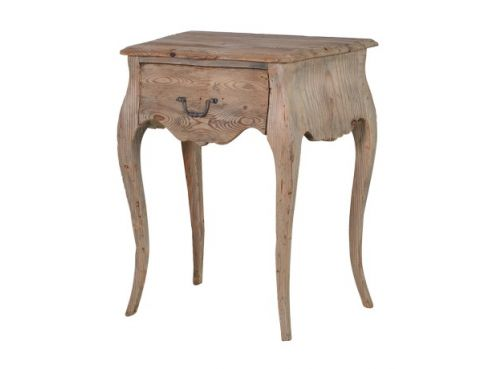 Colonial Reclaimed Pine Bedside Table