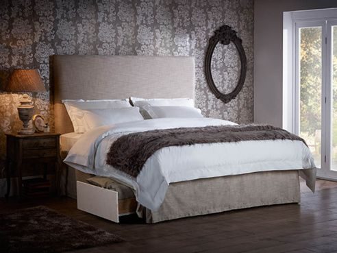 Christie 2 Drawer Fabric Bed