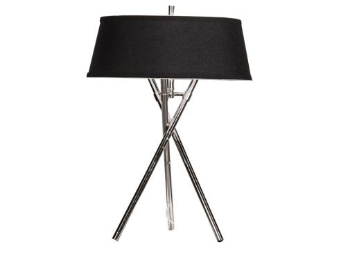 Chrome Tripod Lamp