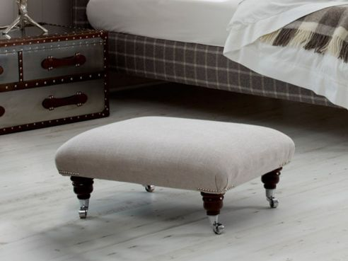 Elliot Upholstered Footstool