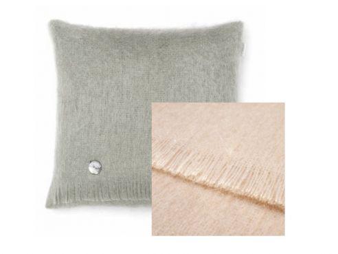 Mohair Cushion Blonde