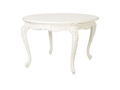 Chateau Carved Round Dining Table