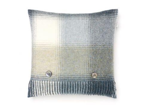 Shetland Cushion Aqua